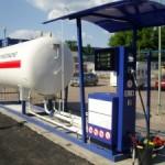 Газовая заправка в Москве
