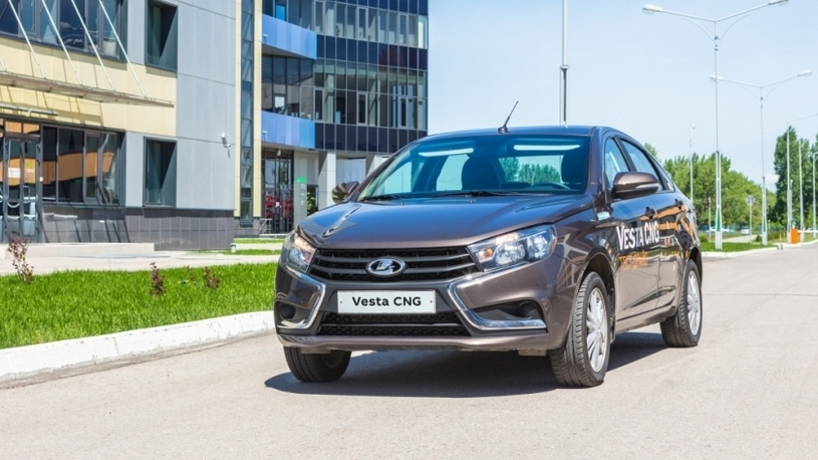 На заводе АвтоВАЗ стартовало производство метановой Лада Веста